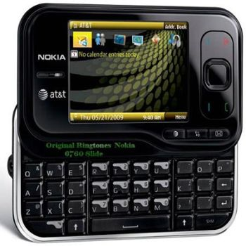 زنگ های فابریک Original Ringtones Nokia 6760 Slide